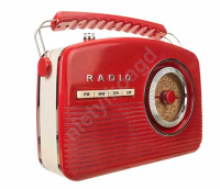 Radio retro  Camry CR1130 red