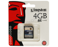 Karta pamięci SDHC 4GB Kingston