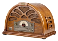 Radio z CD Hyundai Retro RC403U Drewno